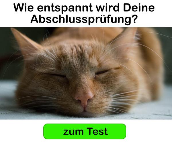 Teste Deine Prüfungsvorbereitung! Zum Test